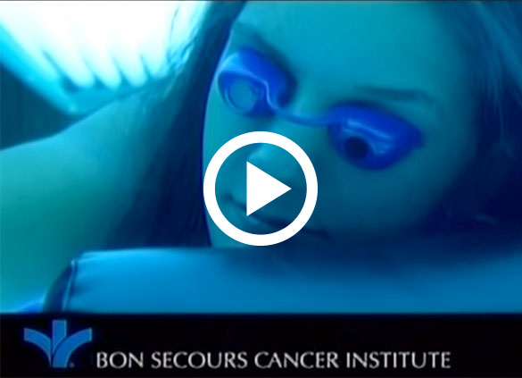 Skin Cancer myths commercial from Bon Secours Cancer Insitute featuring Dr. Christine Rausch
